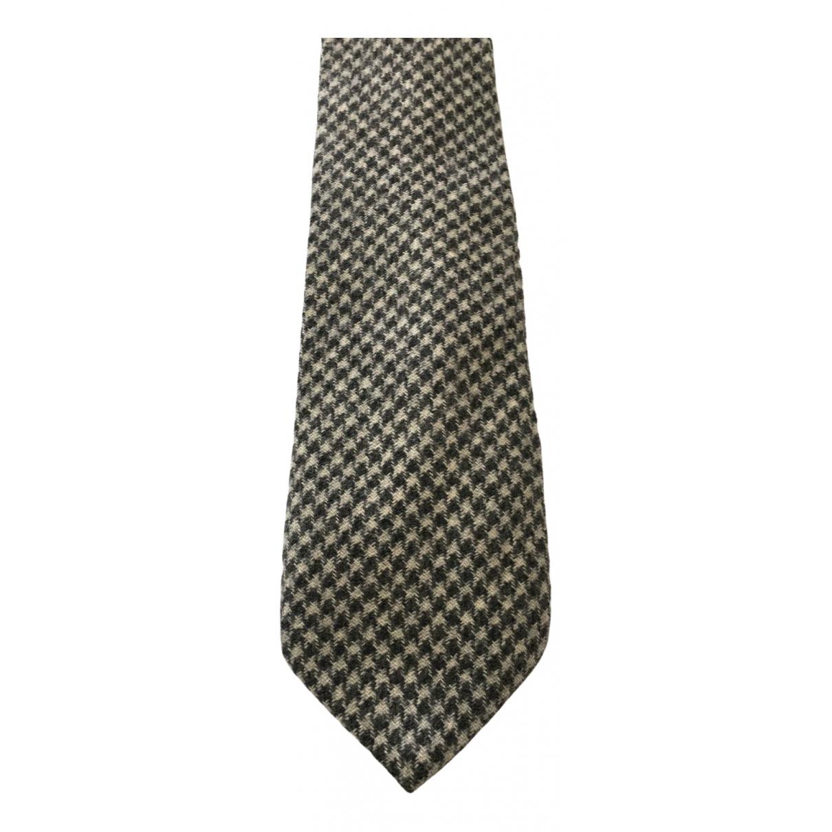 Ermenegildo Zegna \N Green Wool Ties for Men \N