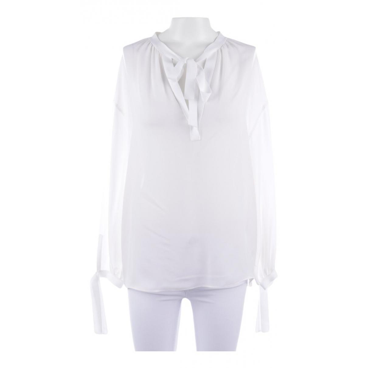 Vince \N White Silk  top for Women S International
