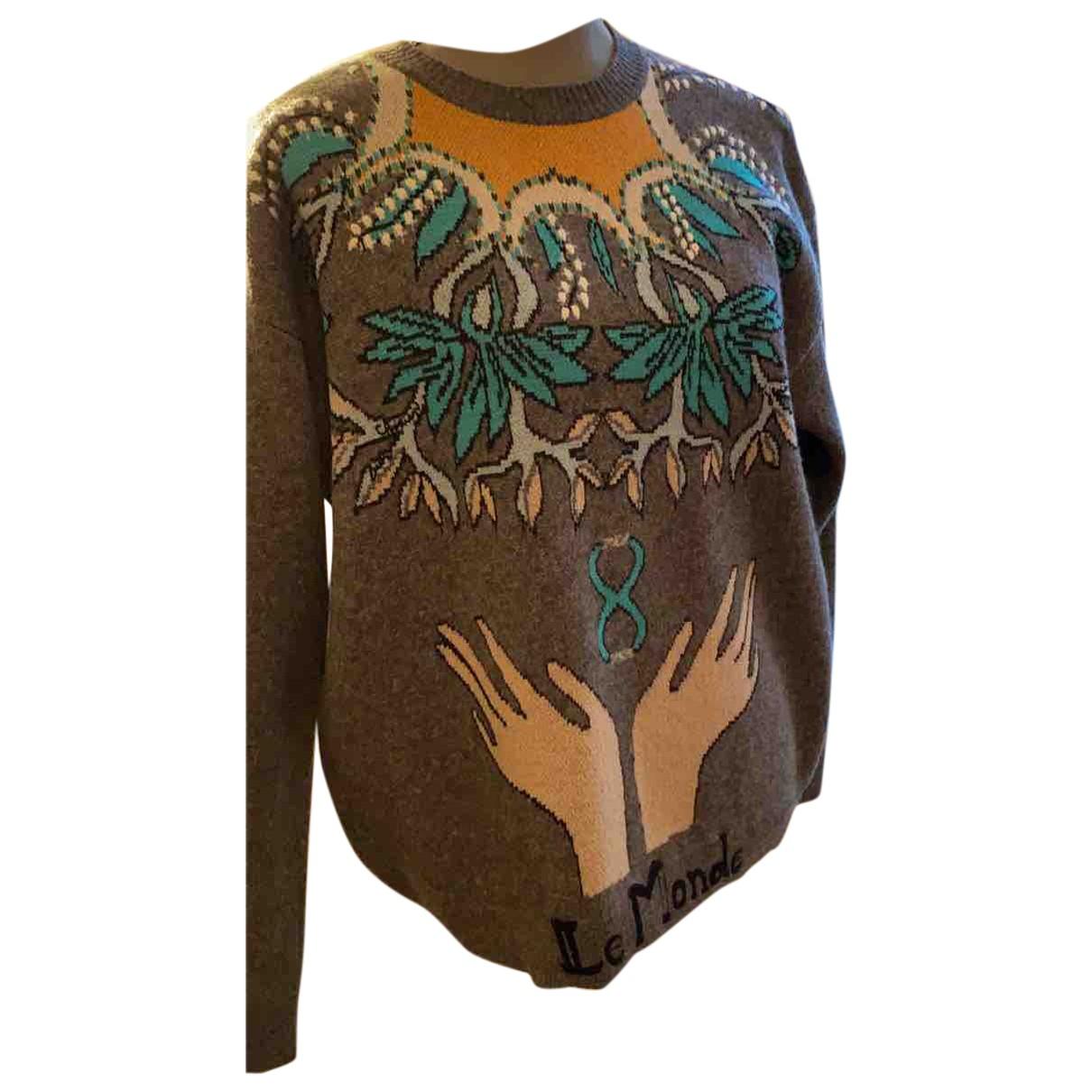 Dior N Multicolour Wool Knitwear for Women 36 FR
