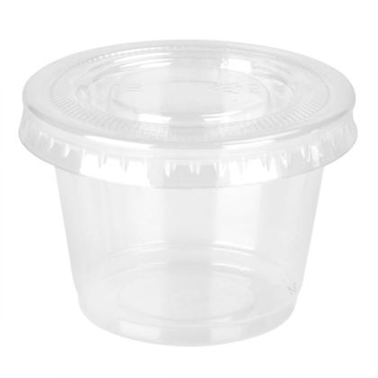 Dressing Container With Lid 30ml 18Pcs/Pack - LIVINGbasics™