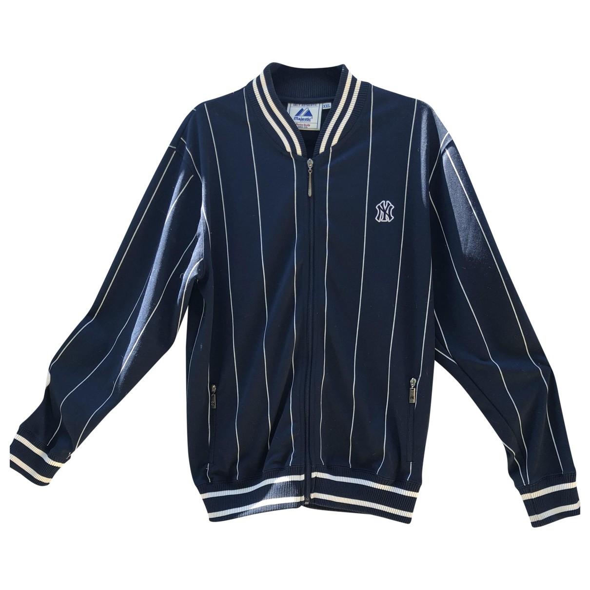 Non Signe / Unsigned \N Pullover.Westen.Sweatshirts  in  Blau Polyester