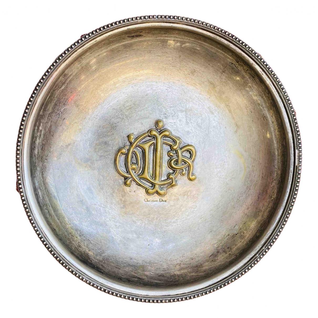 Dior \N Tischkultur in  Metallic Metall