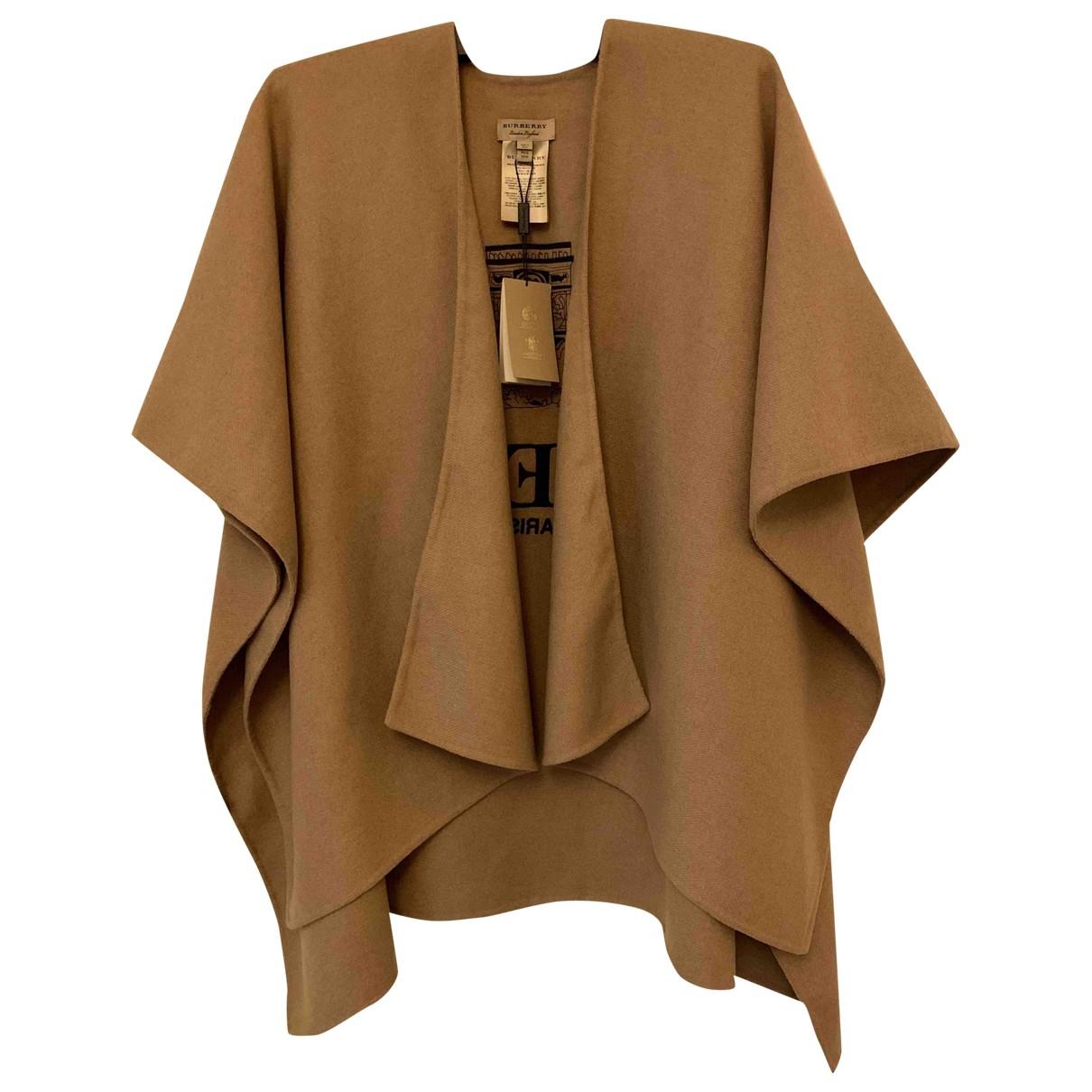 Burberry \N Camel Cashmere jacket for Women S International
