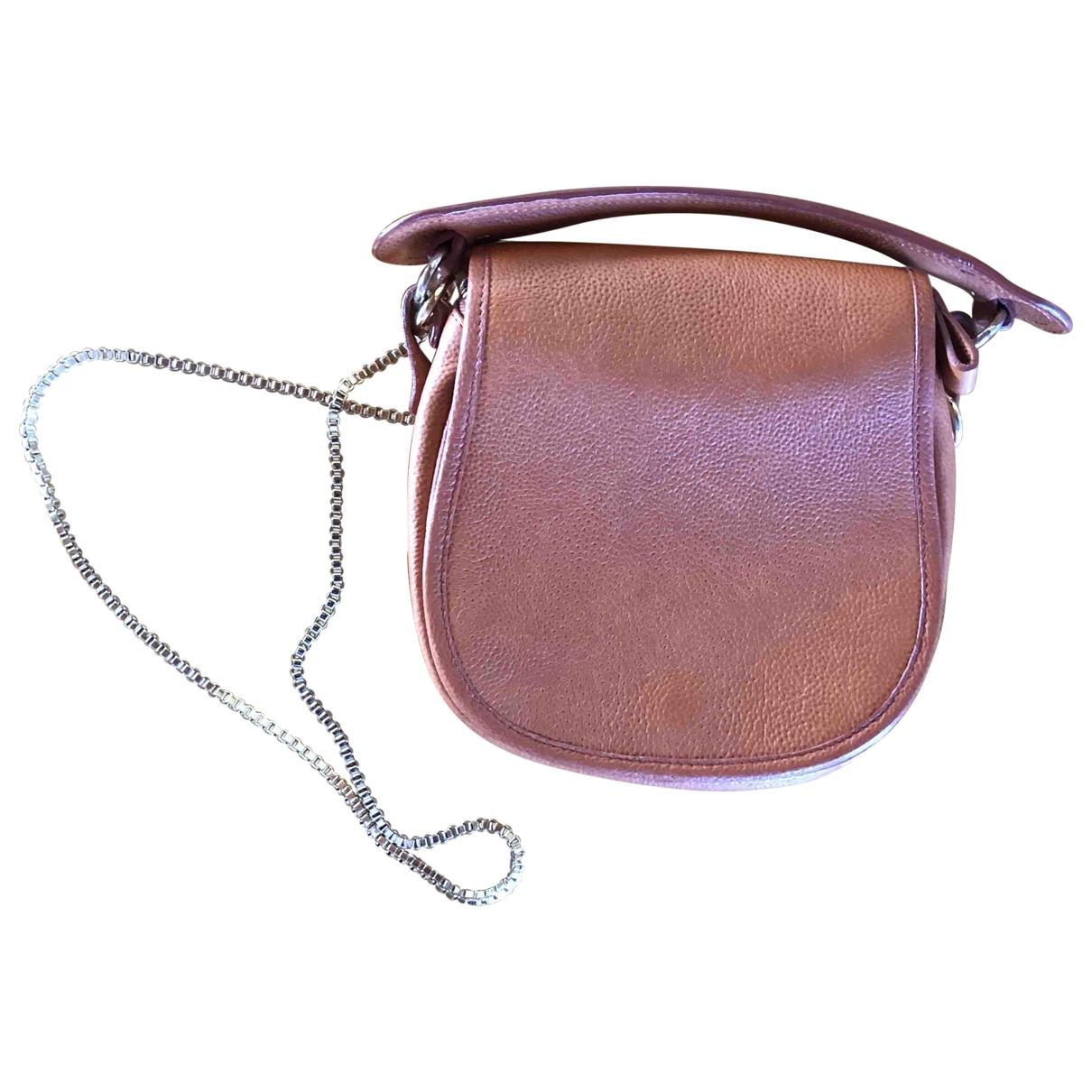Carven \N Brown Leather handbag for Women \N