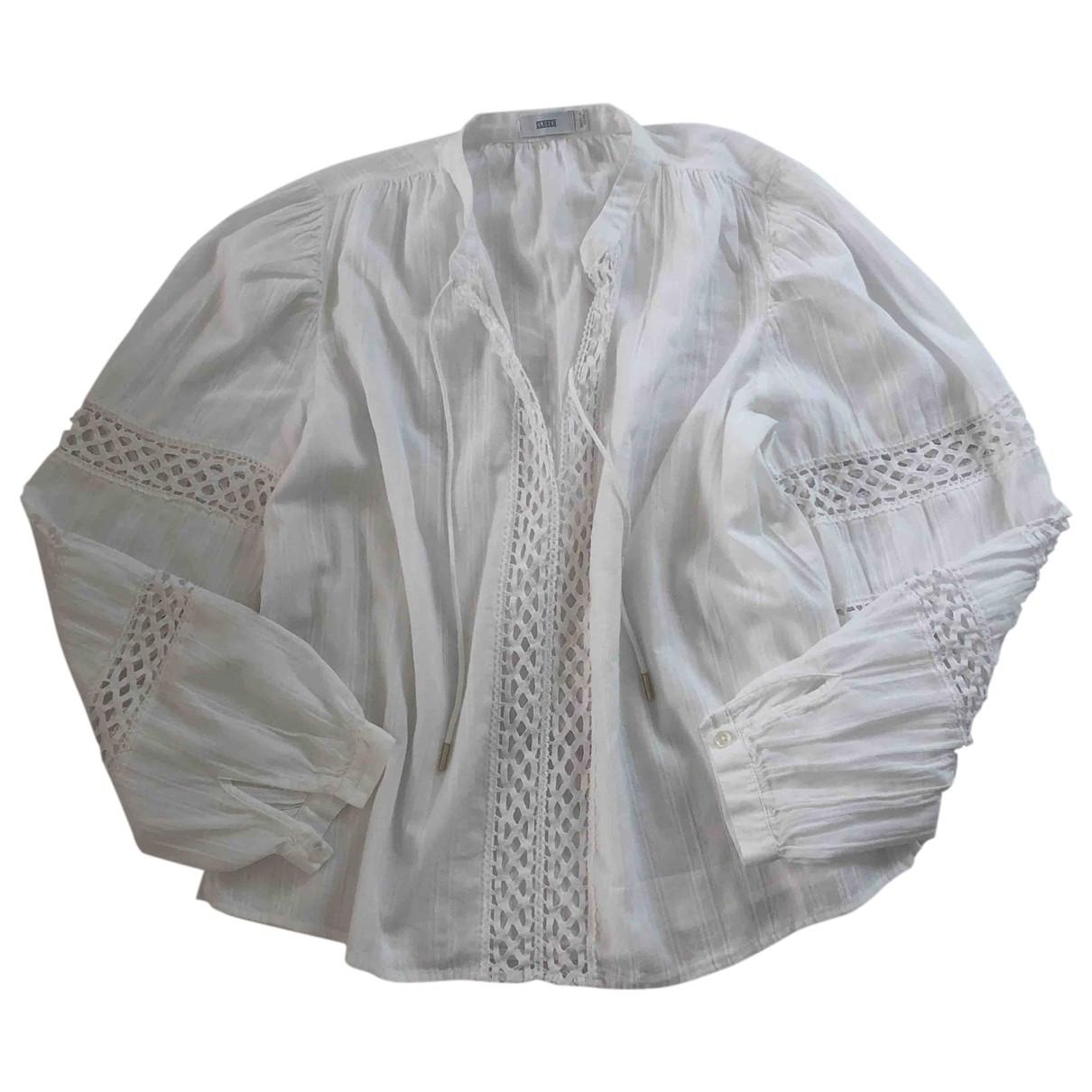Closed \N White Cotton  top for Women XXS International