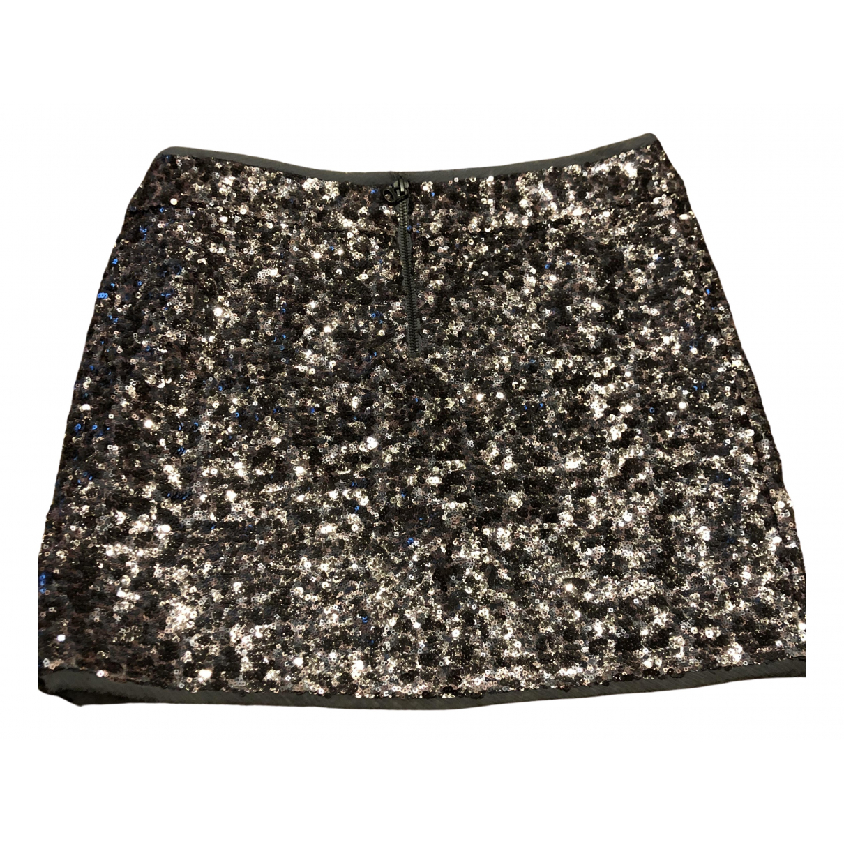 Zadig & Voltaire \N Silver Glitter skirt for Women 38 FR