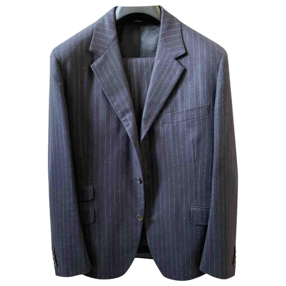 Hermès \N Grey Wool Suits for Men 50 FR