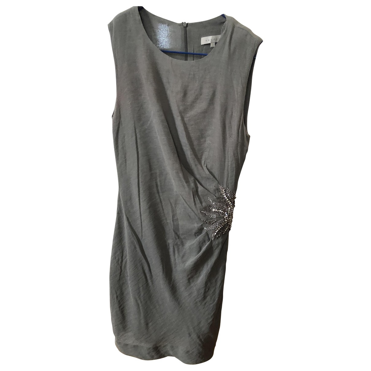 Sandro \N Khaki dress for Women 36 FR