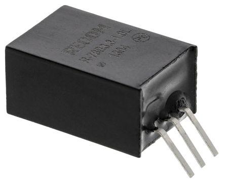 Recom Through Hole Switching Regulator, 3.3V dc Output Voltage, 32V dc Input Voltage, 1A Output Current