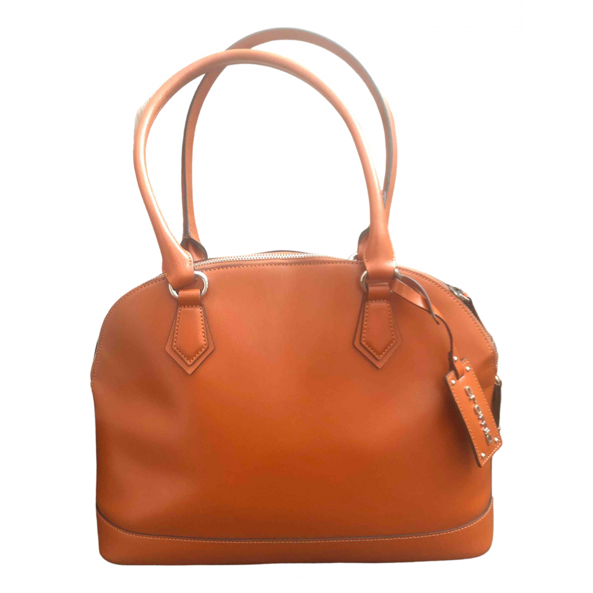 Cromia \N Orange Leather handbag for Women \N