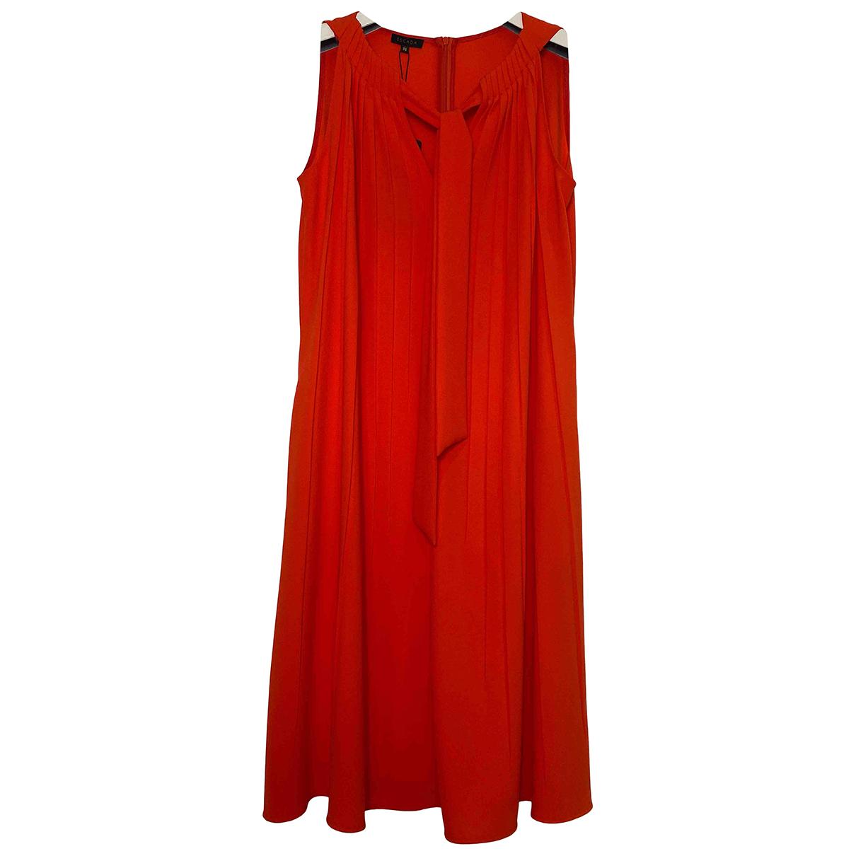 Escada \N Kleid in  Orange Synthetik