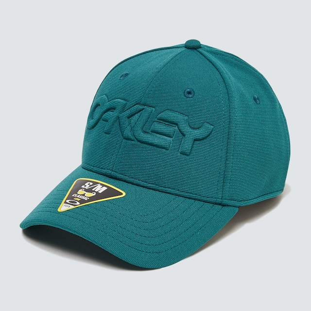 Oakley Mens Forest Town 6 Panel Stretch Hat Embossed