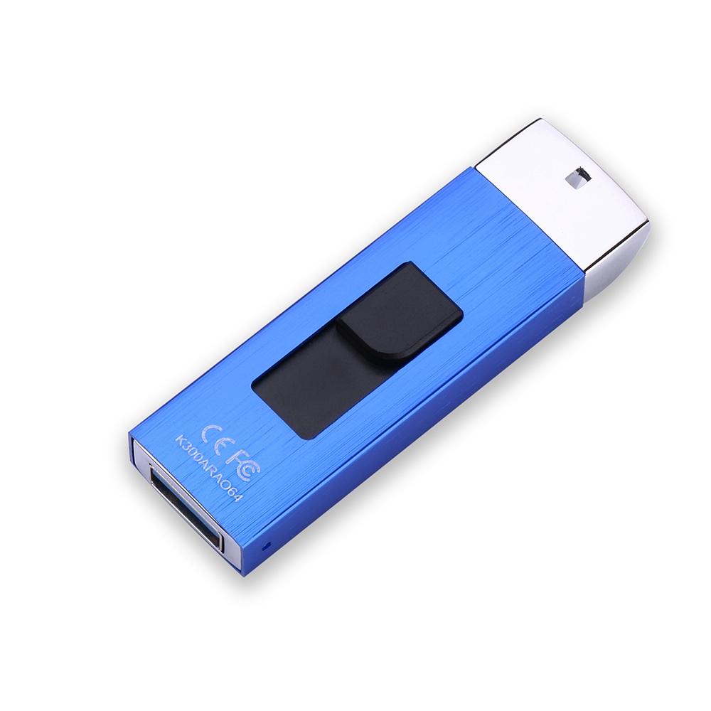 Stmagic K300 ST USB Flash Disk 256GB USB 3.0 PCBA Metal - Blue