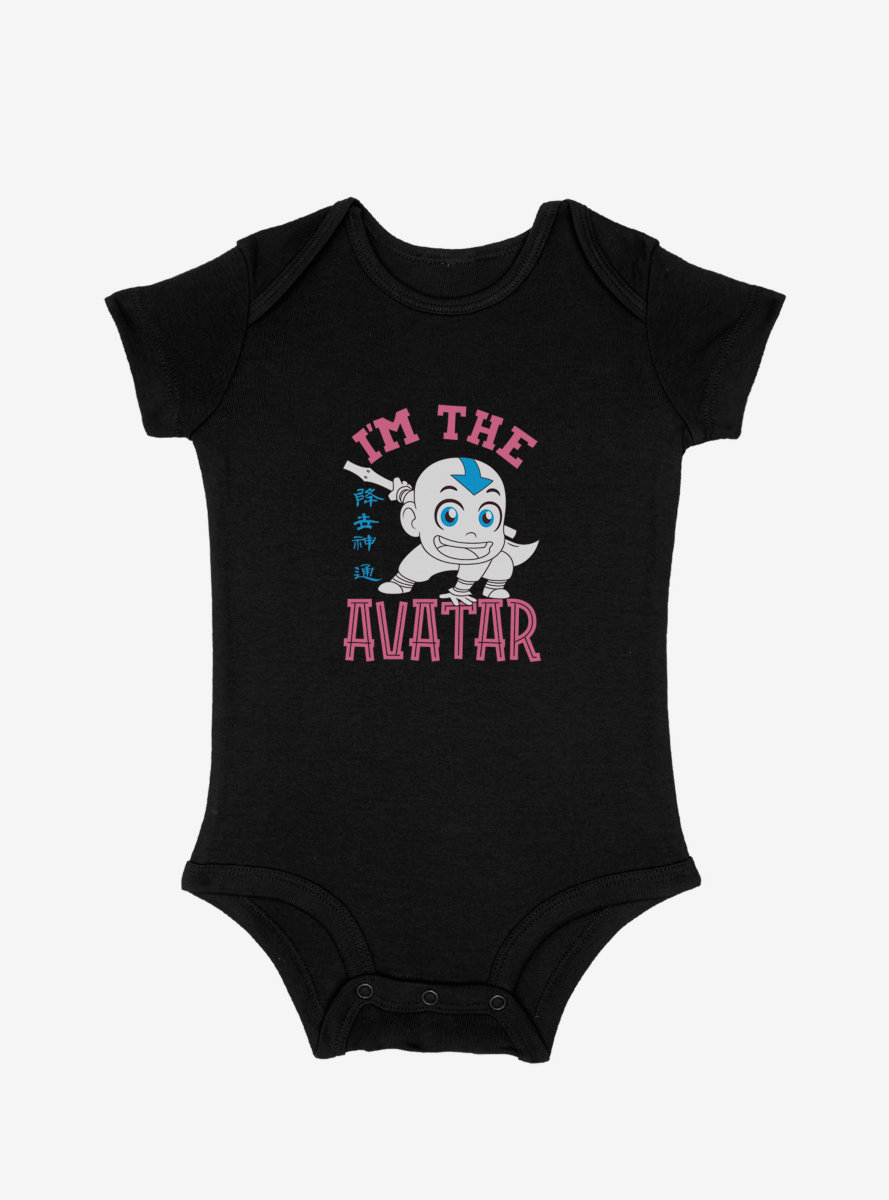 Avatar: The Last Airbender Aang The Avatar Infant Bodysuit
