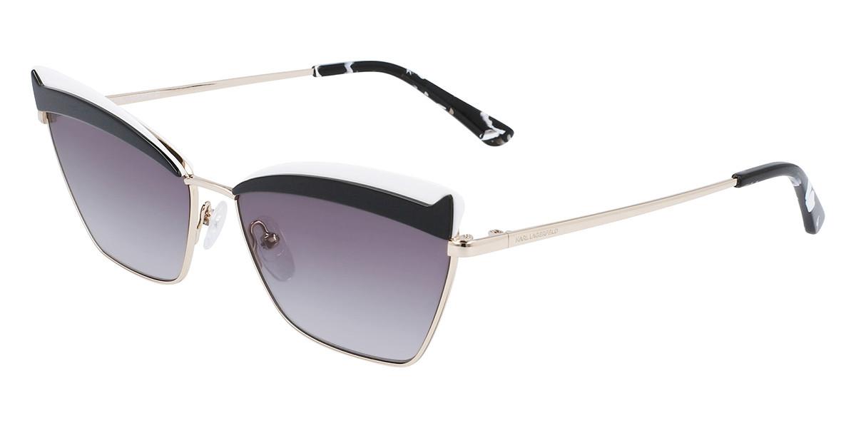Karl Lagerfeld KL 323S 714 Women's Sunglasses Gold Size 59