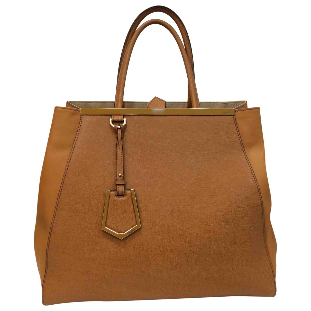 Fendi 2Jours Handtasche in Leder