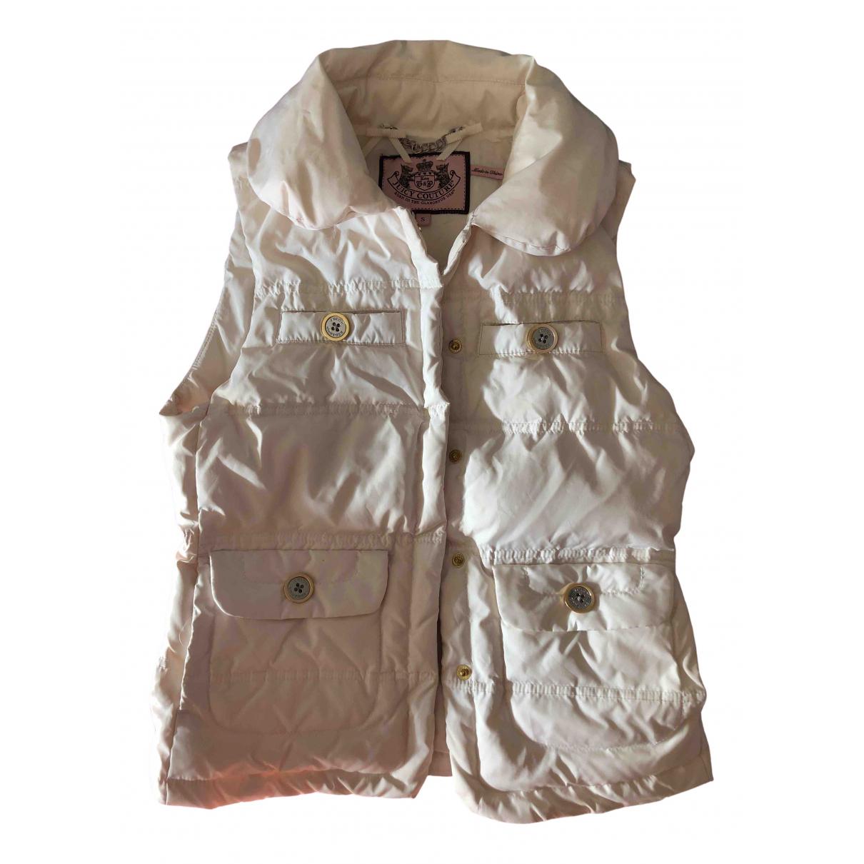 Juicy Couture \N Jacke in  Ecru Polyester