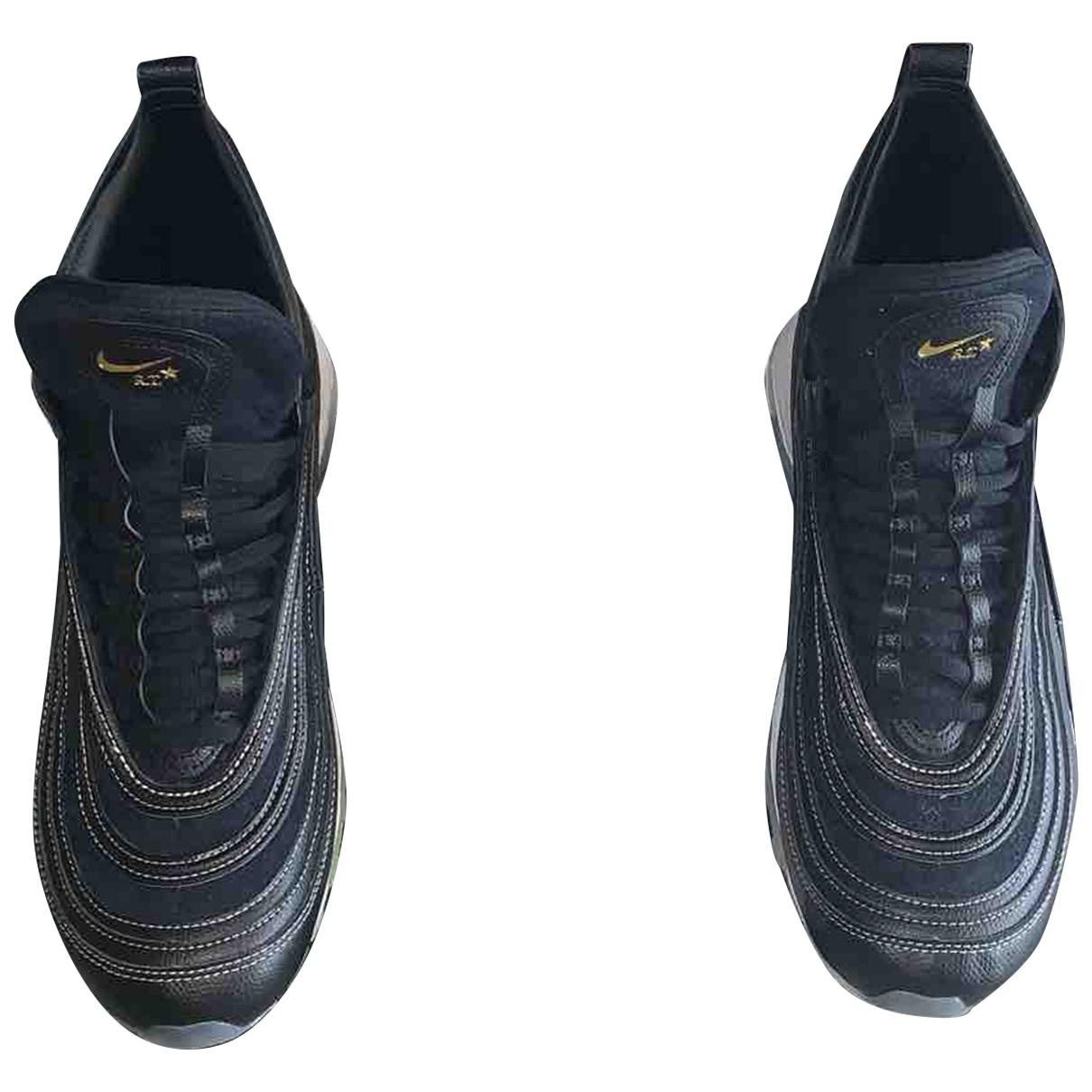 Nike By Riccardo Tisci Air Max 97 Sneakers in  Schwarz Leder