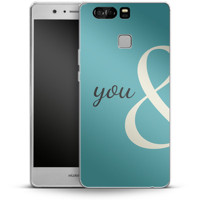 Huawei P9 Silikon Handyhuelle - You And von caseable Designs