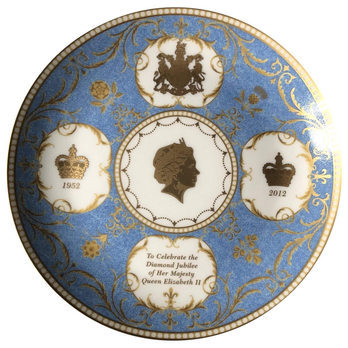 Non Signe / Unsigned \N Accessoires und Dekoration in  Tuerkis Keramik