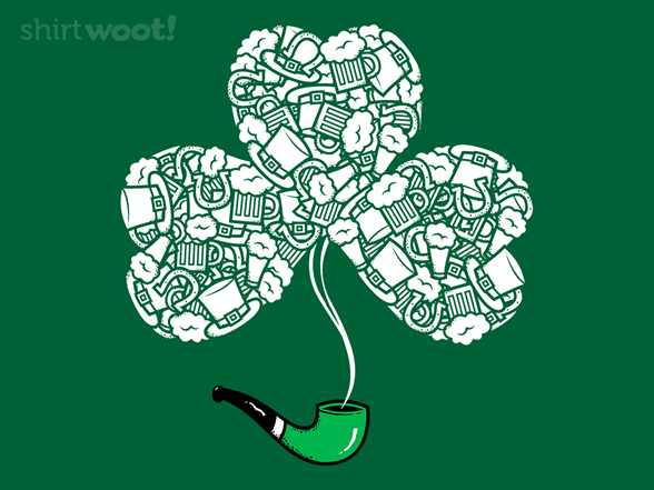 St. Patrick's Day Pipe T Shirt