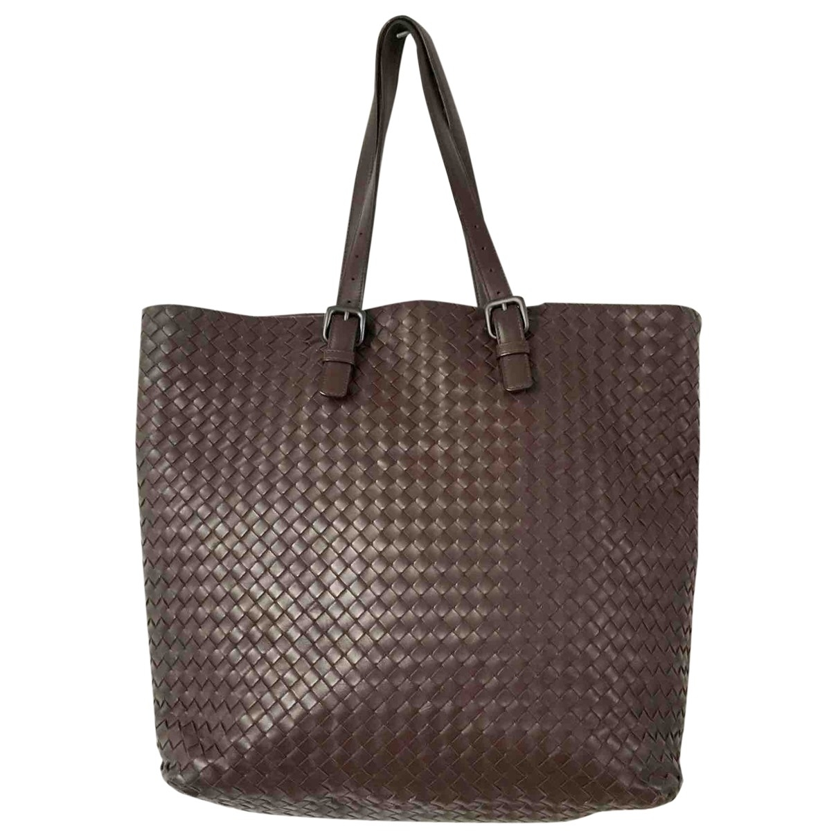Bottega Veneta Fourre-Tout  Brown Leather handbag for Women \N