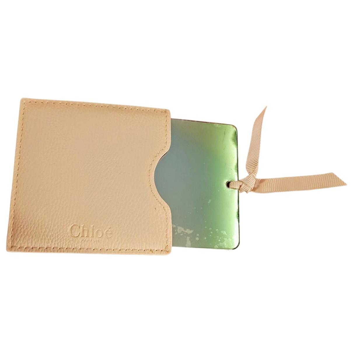 Chloe - Objets & Deco   pour lifestyle en verre - beige