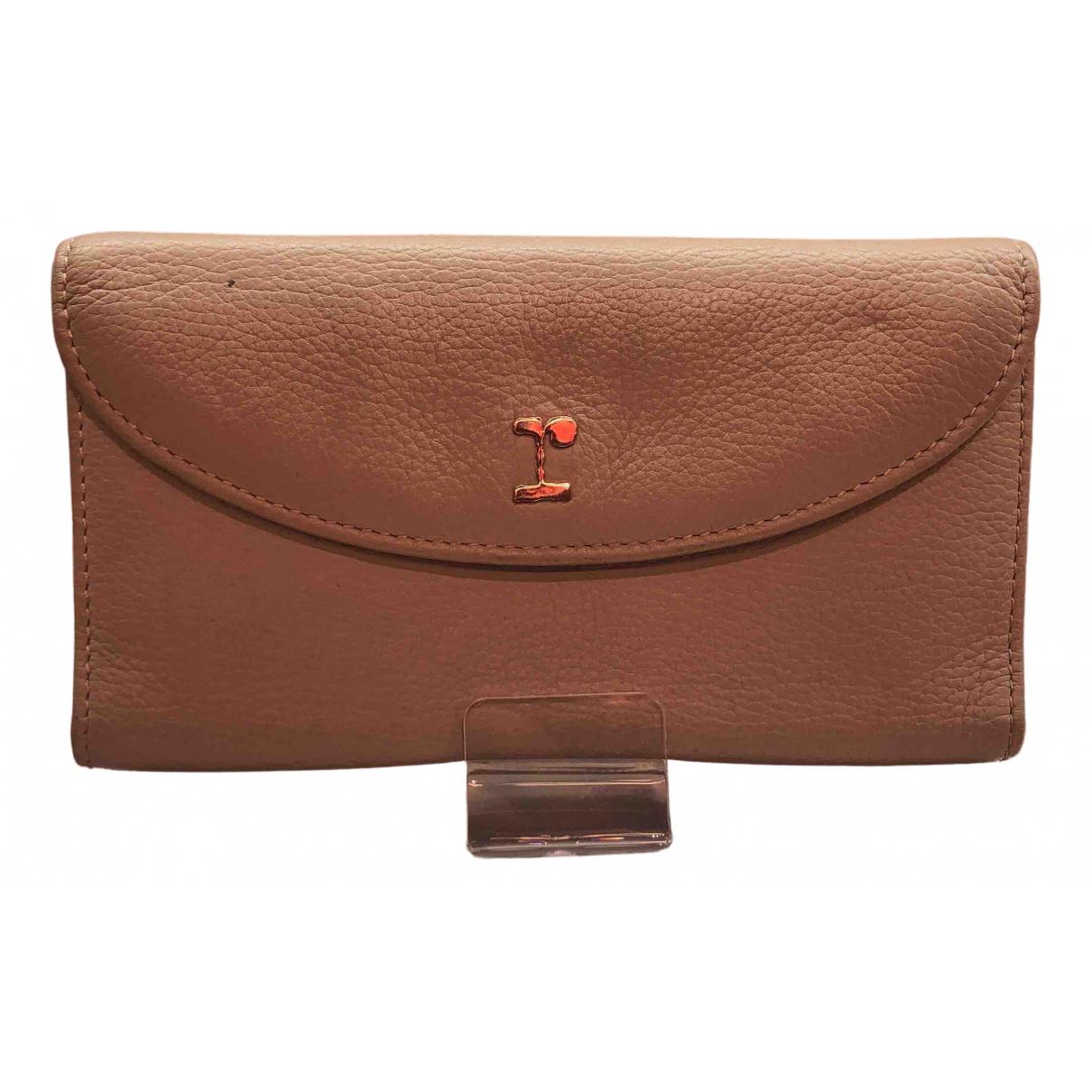 Repetto - Portefeuille   pour femme en cuir - beige
