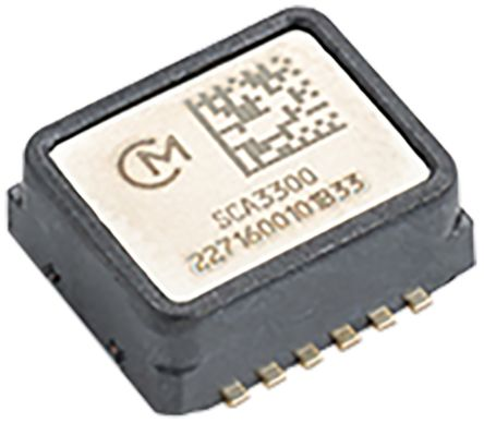 Murata SCA3300-D01-1 , 3-Axis Accelerometer, SPI, 12-Pin DFL/SMD (100)