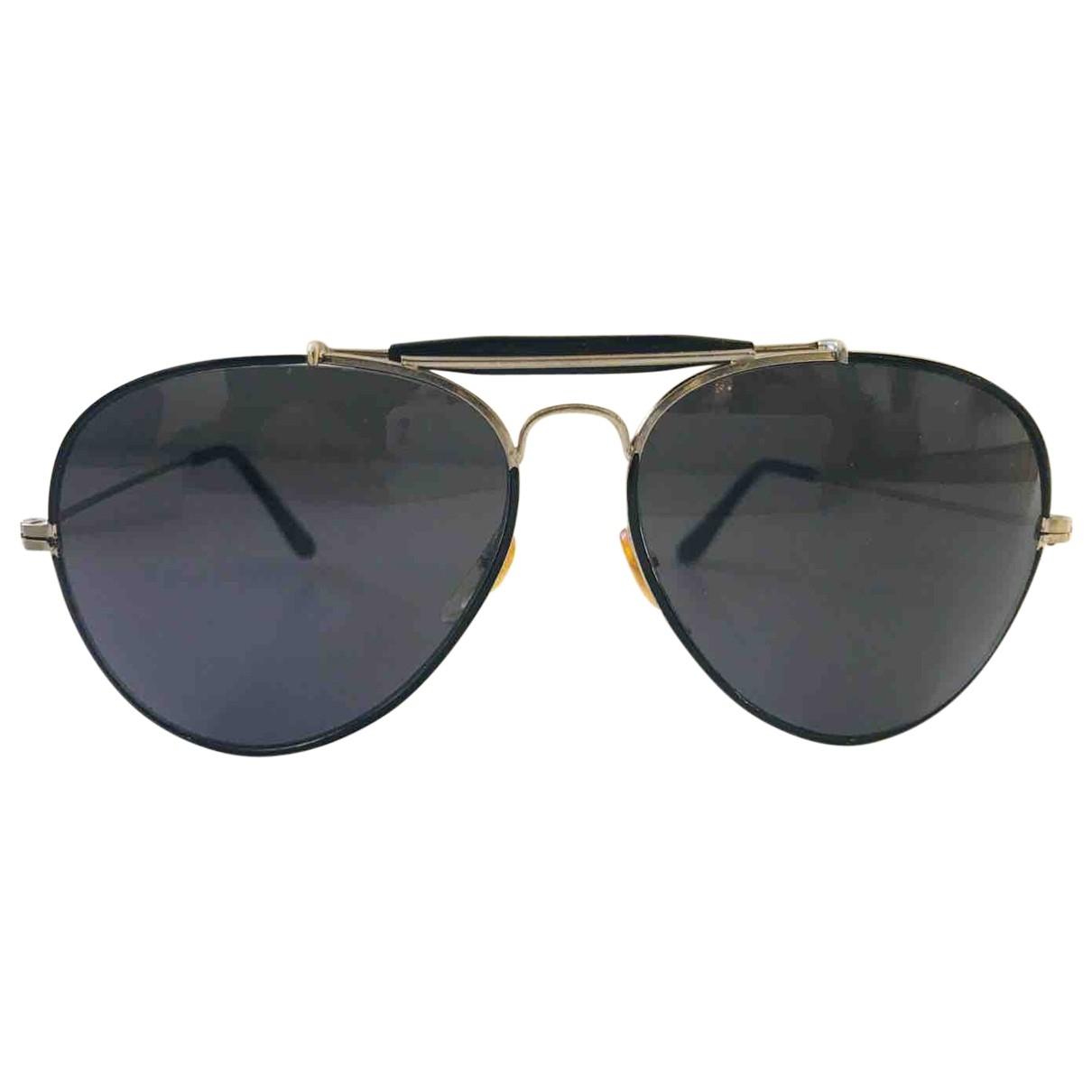 Linda Farrow \N Silver Metal Sunglasses for Women \N