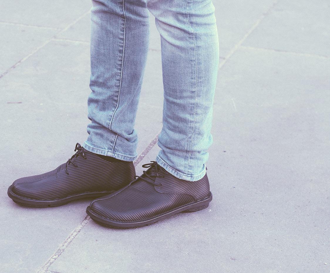 Trippen, Gangster m Closed Men's Lace-up Shoes, black Größe 42