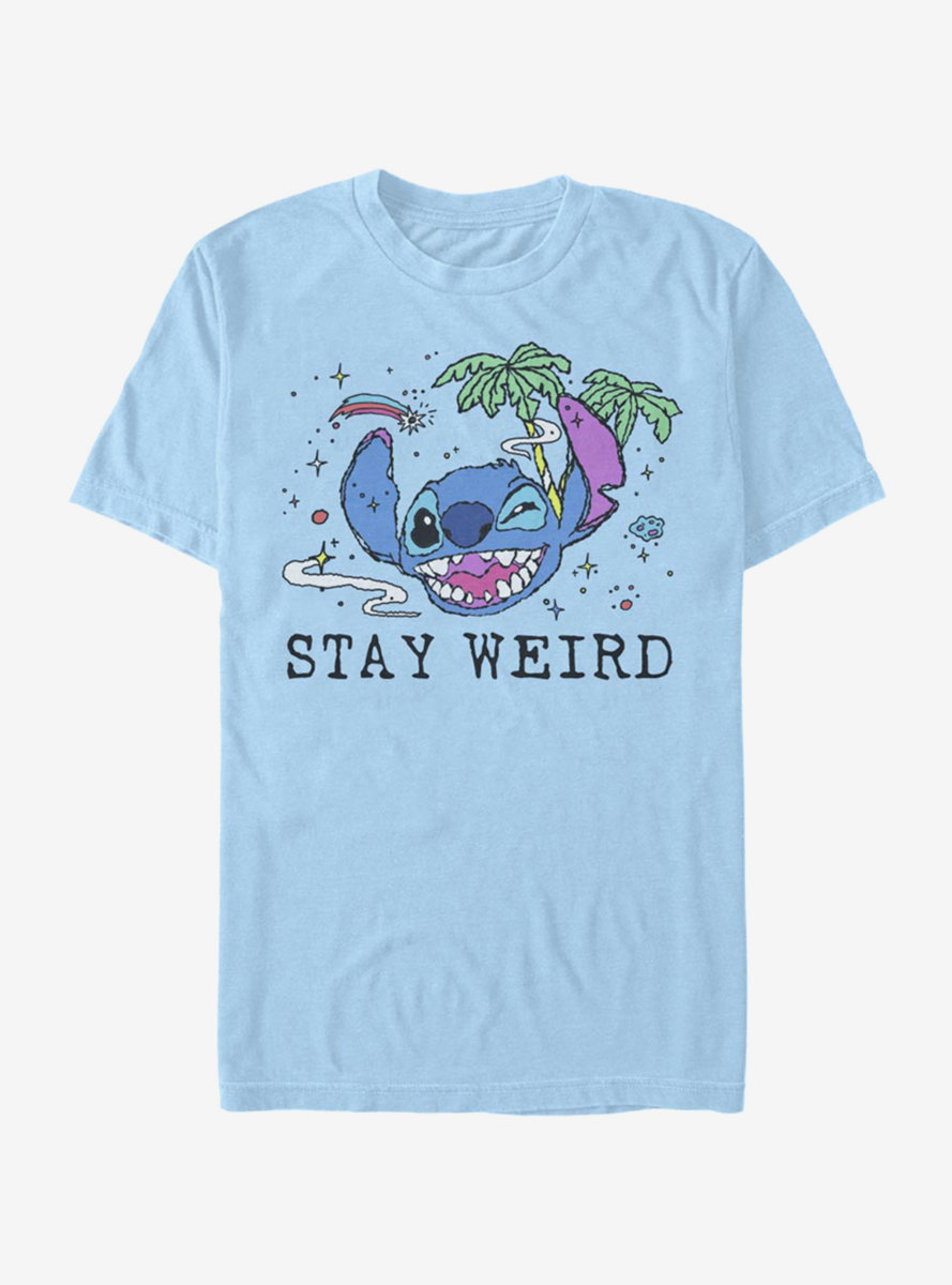 Disney Lilo And Stitch Stay Weird T-Shirt