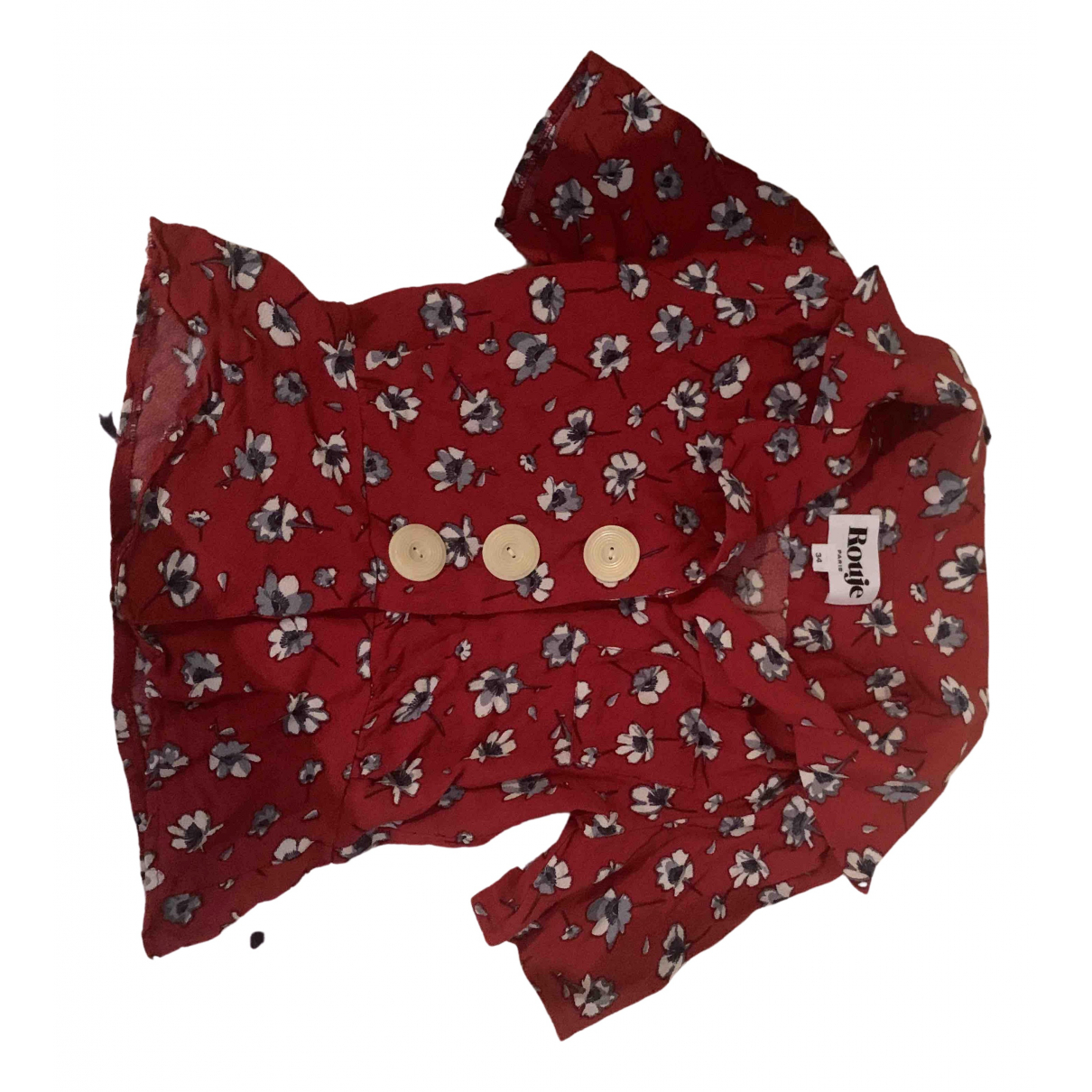 Rouje N Red  top for Women 34 FR