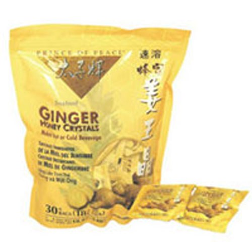 Ginger Honey Crystal Packets 30 ct by Prince Of Peace