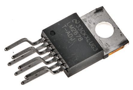 Texas Instruments , LM2678T-ADJ/NOPB Step-Down Switching Regulator, 1-Channel 5A Adjustable 7-Pin, TO-220