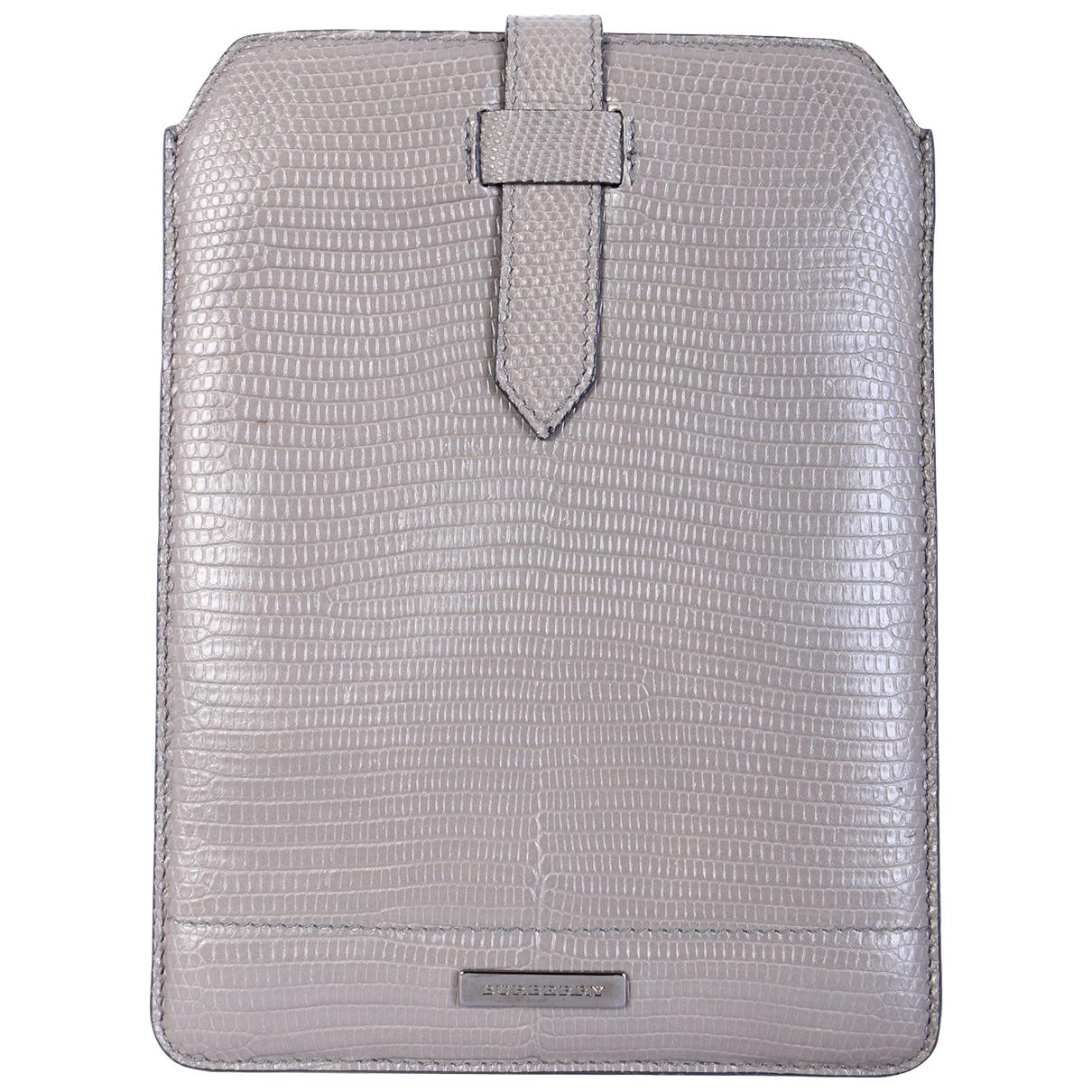 Burberry - Accessoires   pour lifestyle en cuir - gris