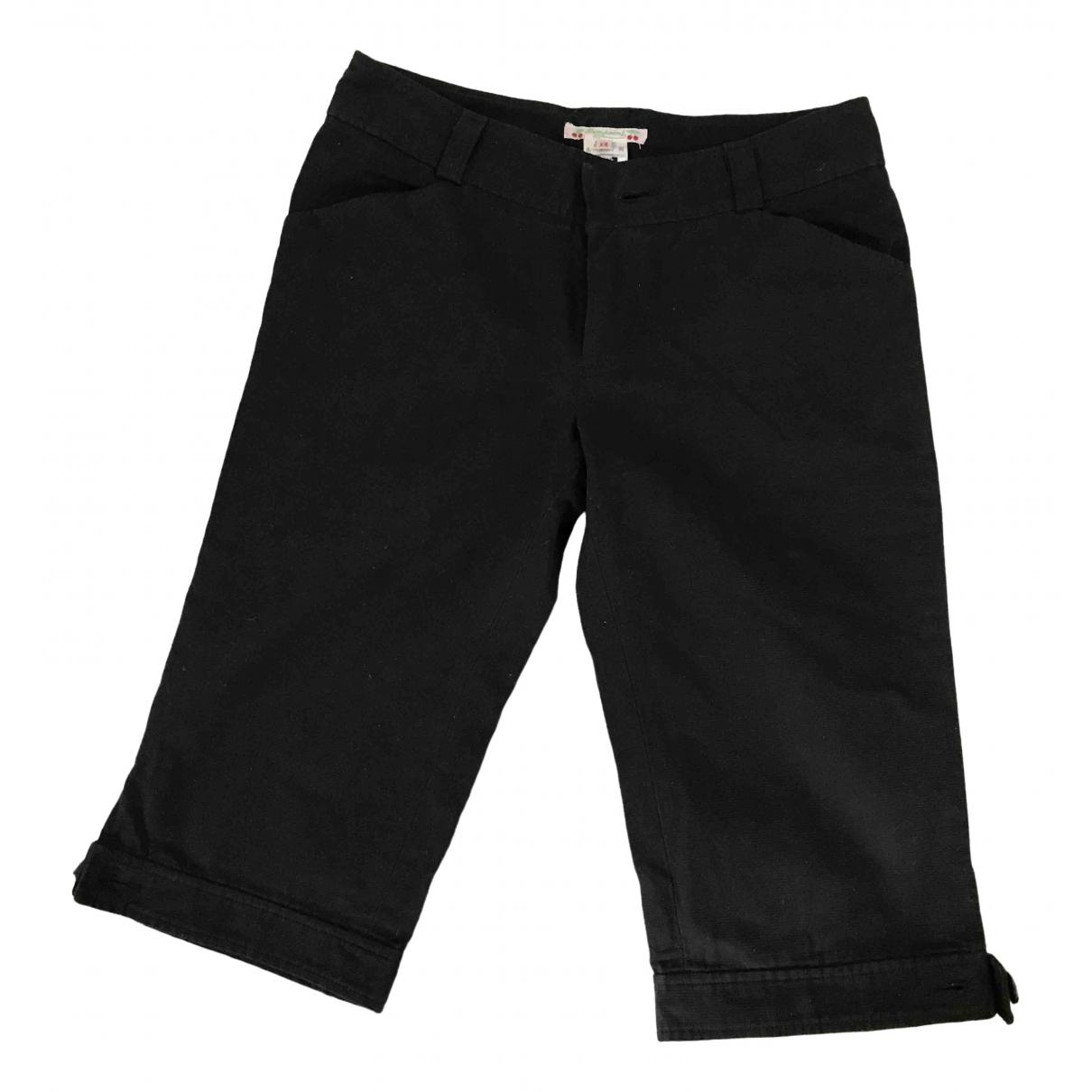 Bonpoint \N Shorts in  Schwarz Baumwolle