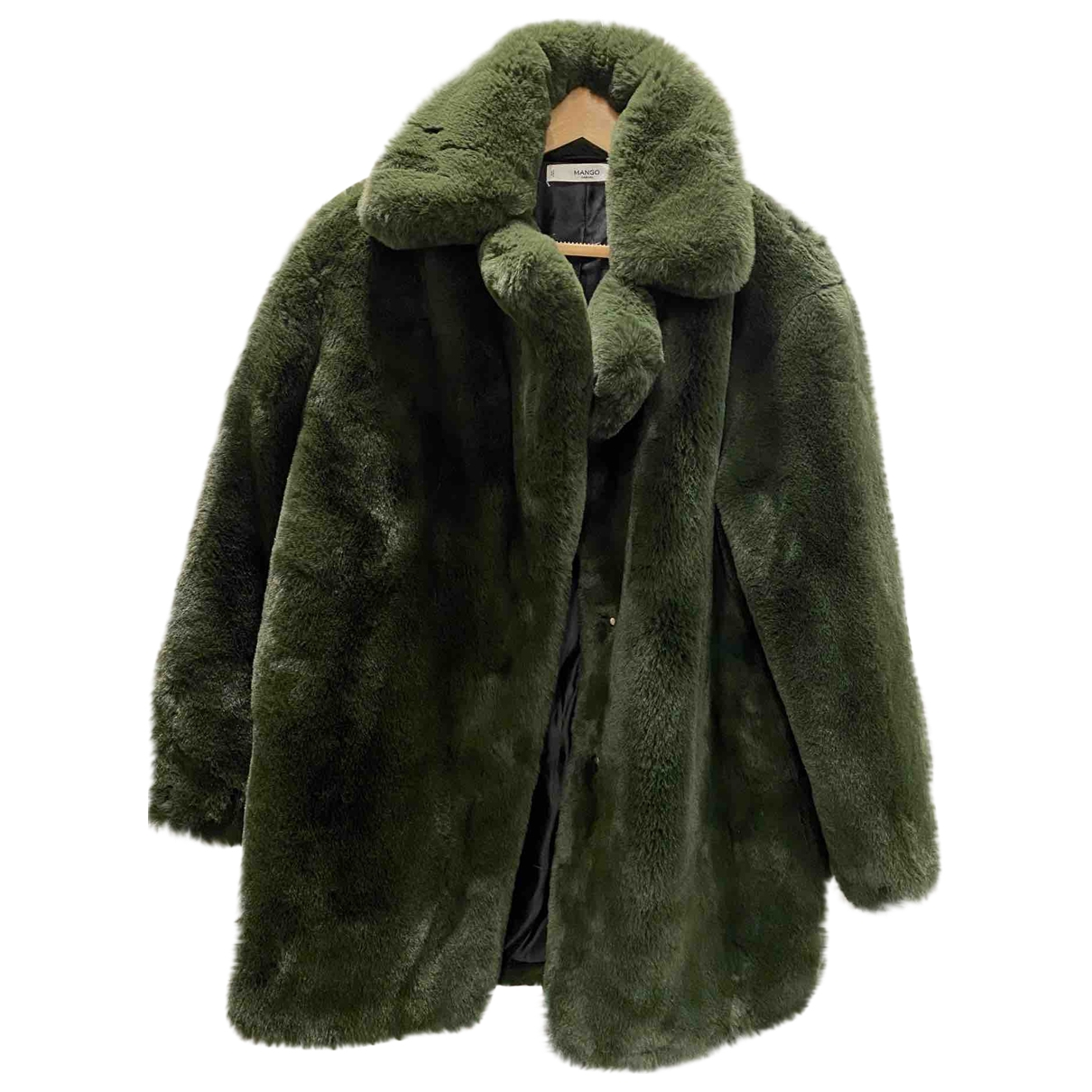 Mango \N Green coat for Women M International