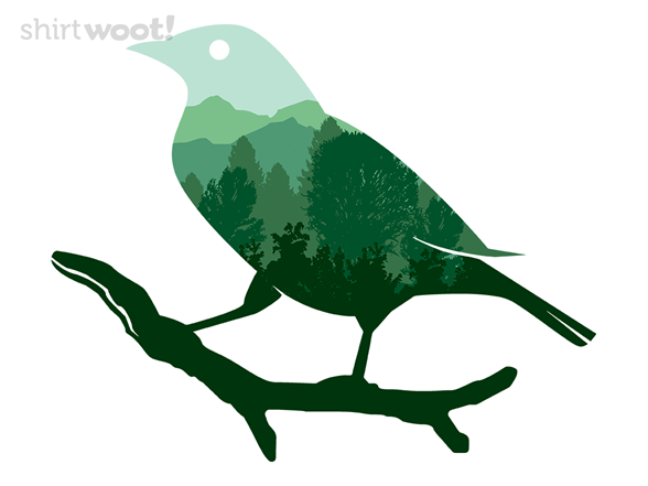 Spring Bird T Shirt