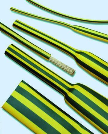 TE Connectivity Heat Shrink Tubing, Green 3mm Sleeve Dia. x 1.5m Length 2:1 Ratio, DCPT Series