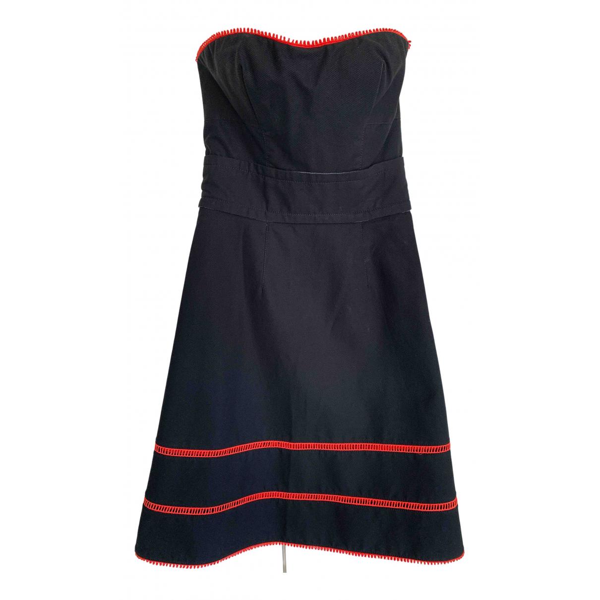 Louis Vuitton \N Kleid in  Blau Baumwolle