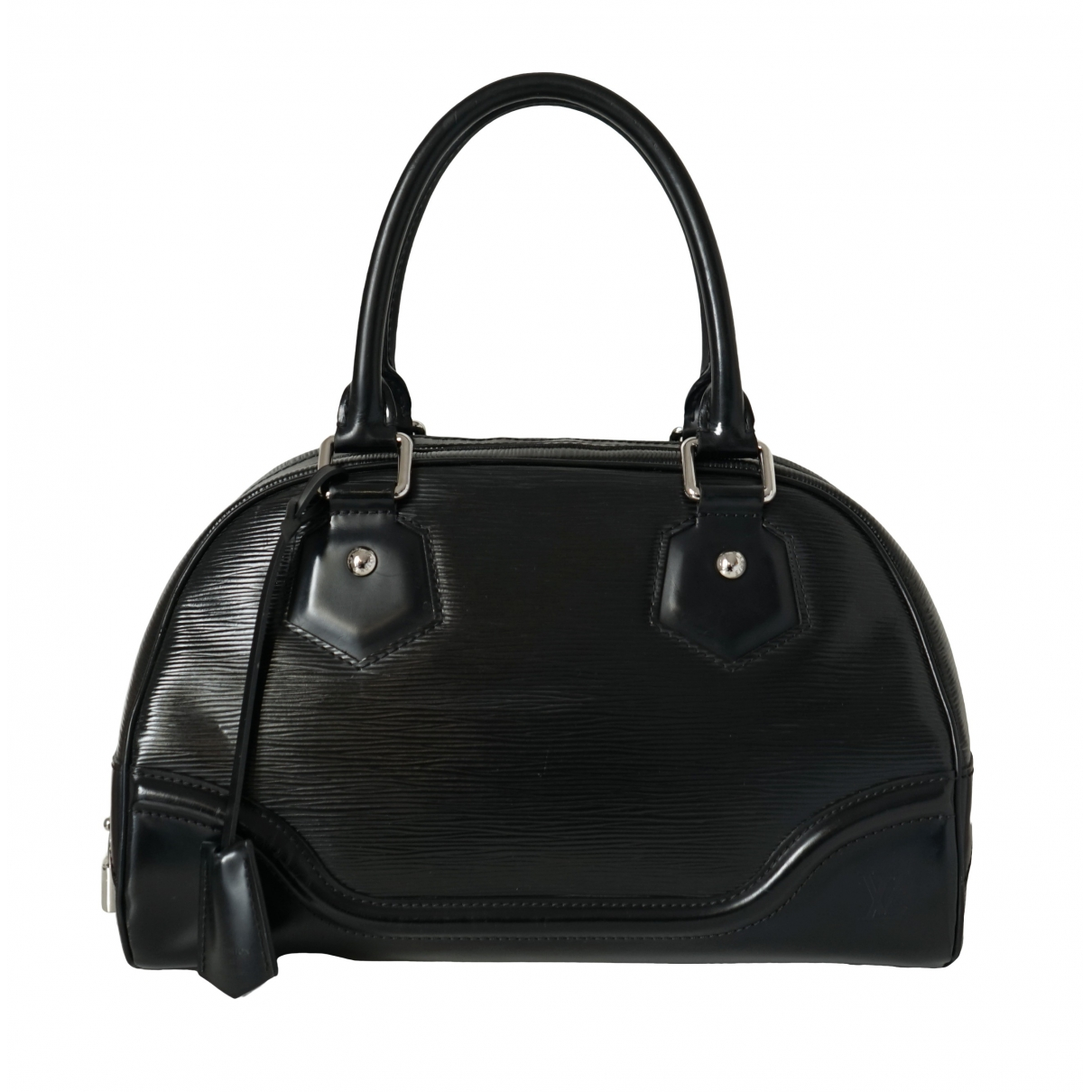 Louis Vuitton Montaigne Vintage  Black Leather handbag for Women \N