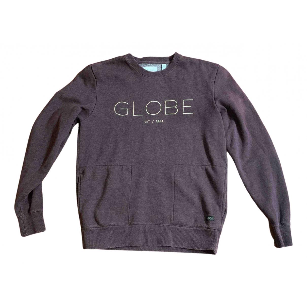 Non Signe / Unsigned \N Pullover.Westen.Sweatshirts  in  Bordeauxrot Baumwolle