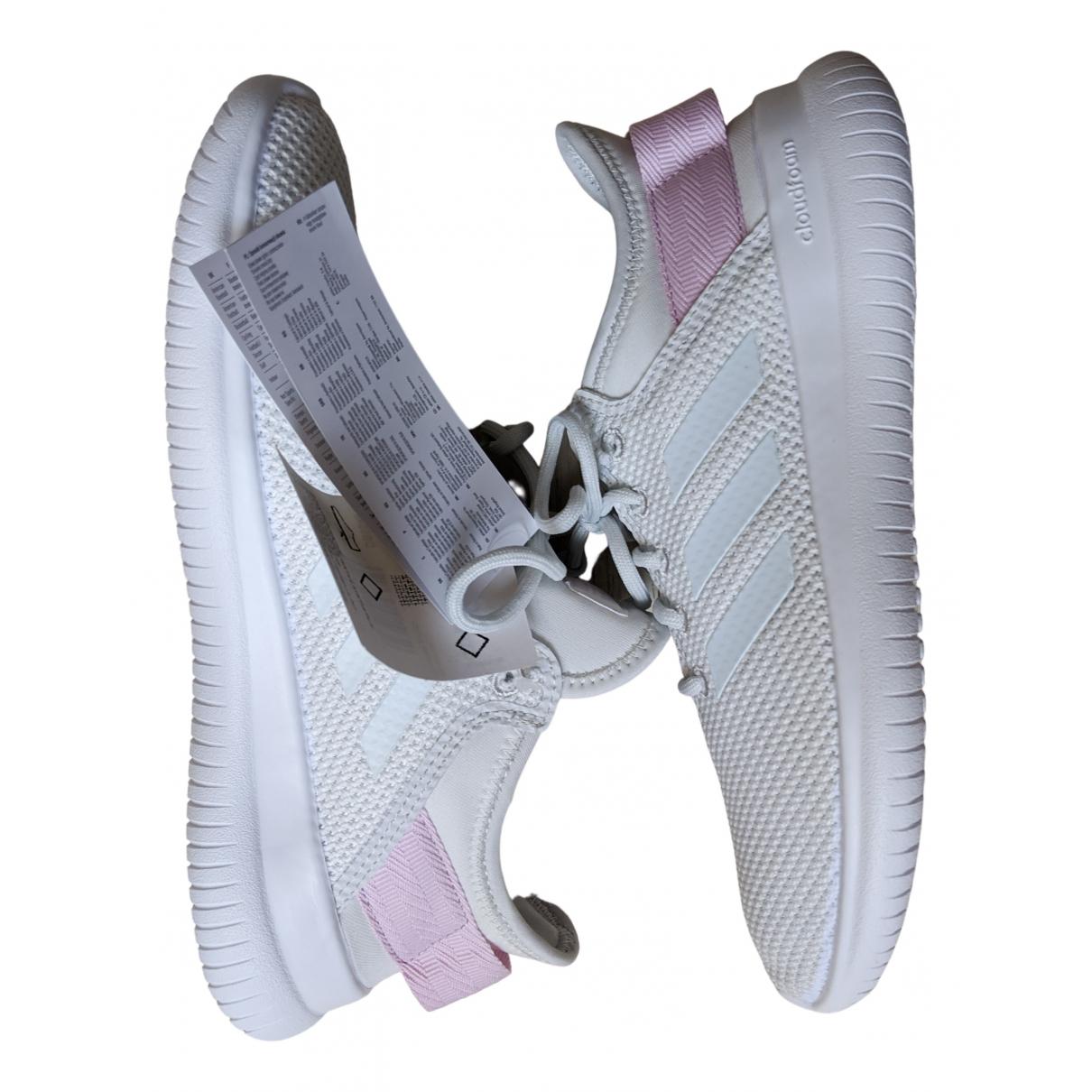 Adidas N White Cloth Trainers for Women 38.5 EU