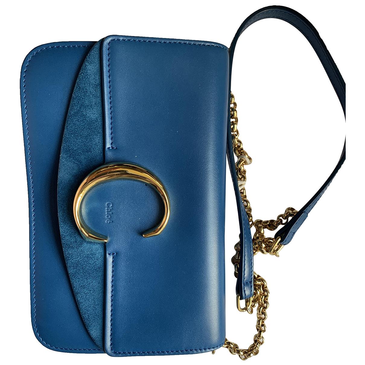 Chloé C Blue Leather handbag for Women \N