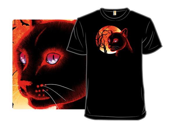 The Black Cat (ii) T Shirt