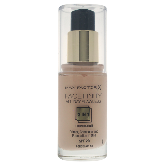 Facefinity All Day Flawless 3 In 1 Foundation Spf20 - Porcelain