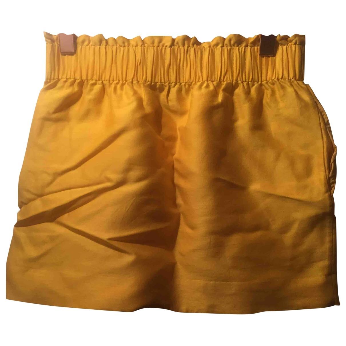 Cos \N Rocke in  Gelb Wolle