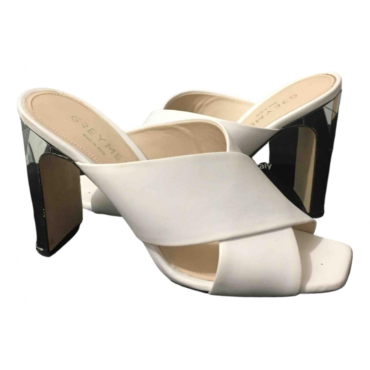 Sandalias de Cuero Greymer