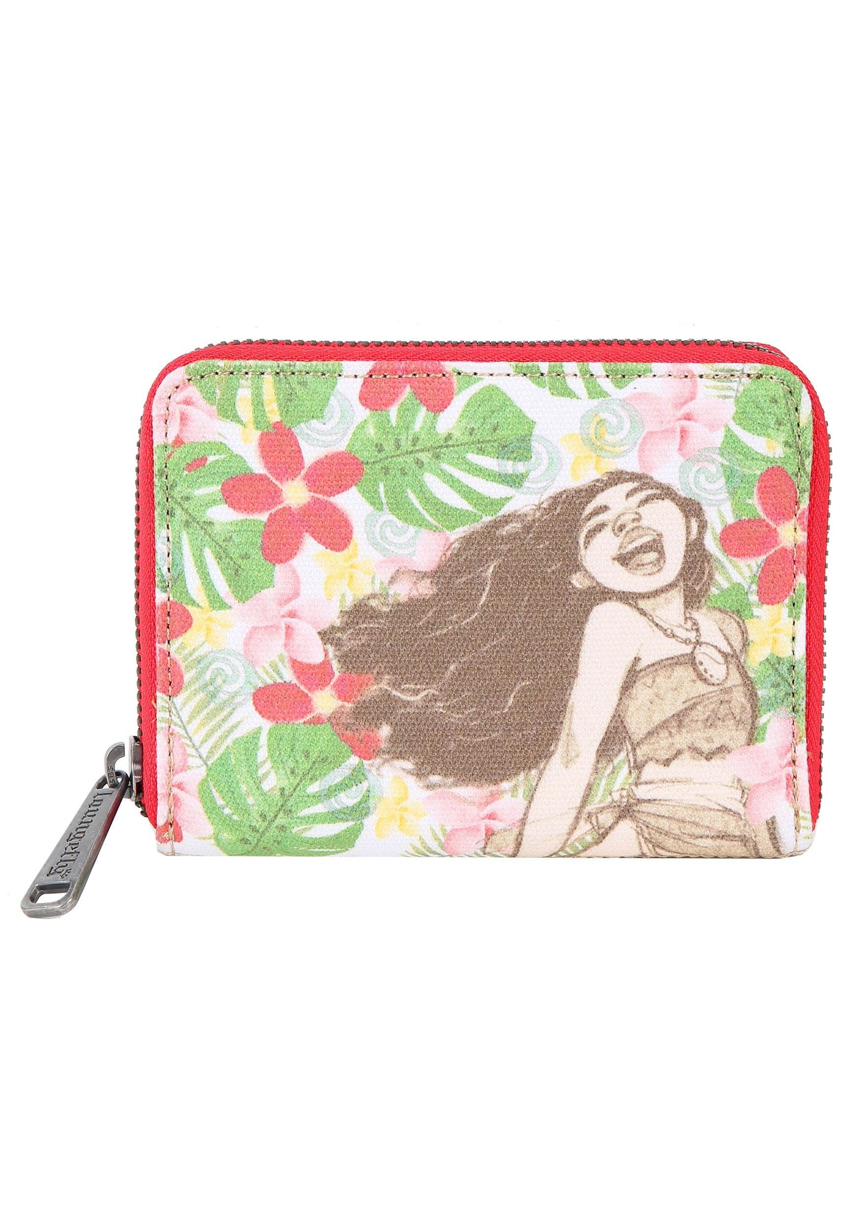 Moana Loungefly Canvas and Burlap Mini Wallet